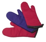 "Intedge 338-17 BU 17"" Oven Mitt, Burgundy"