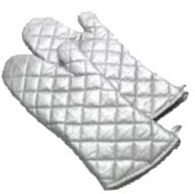 Intedge 338S-24 24-in Silver Teflon Oven Mitt