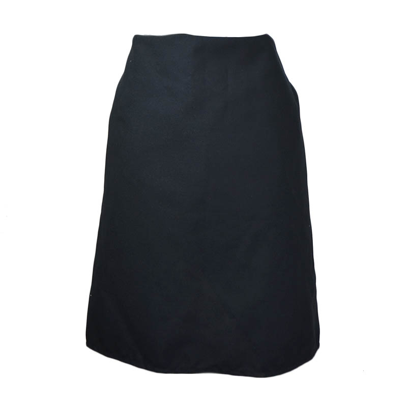 "Intedge 341 BLK 4-Way Waist Apron w/ Nylon Ties, 38 x 35"", Black"
