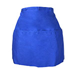 Intedge 342 Apron Half Waist Blue, 3 Divided Pockets, Polyester