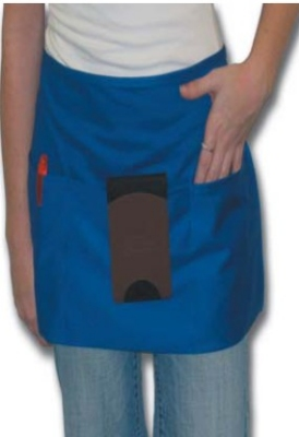 Intedge 342Y Waist Apron w/ 3-Pockets, 11 x 22-in, Yellow
