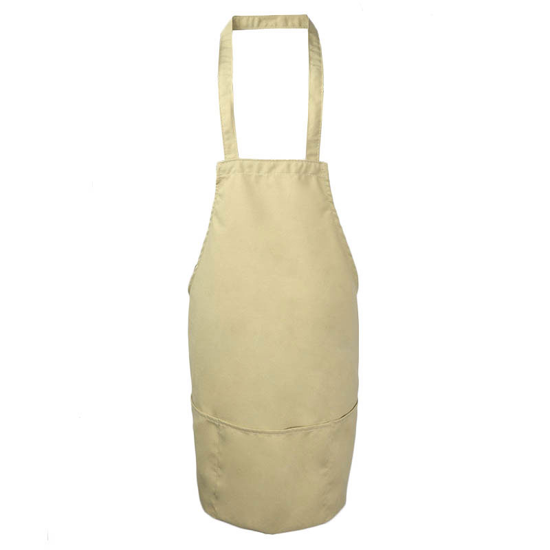 Intedge 343BE Three Pocket Cobbler Apron, Beige
