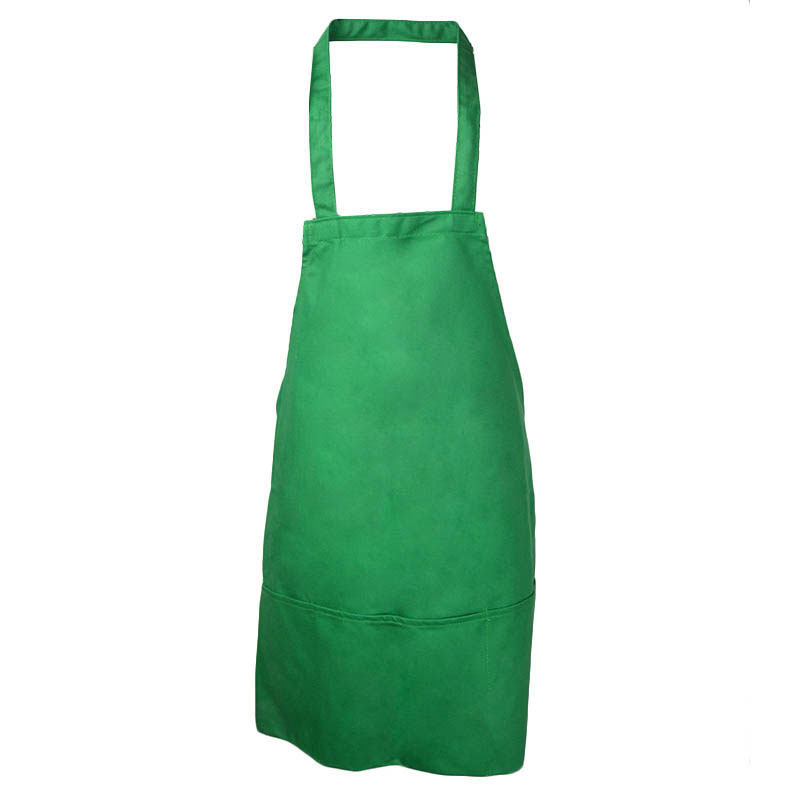 Intedge 343G Three Pocket Cobbler Apron, Green