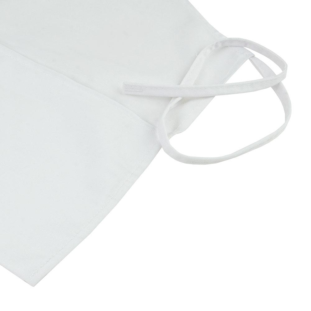 Intedge 343W Three Pocket Cobbler Apron, White