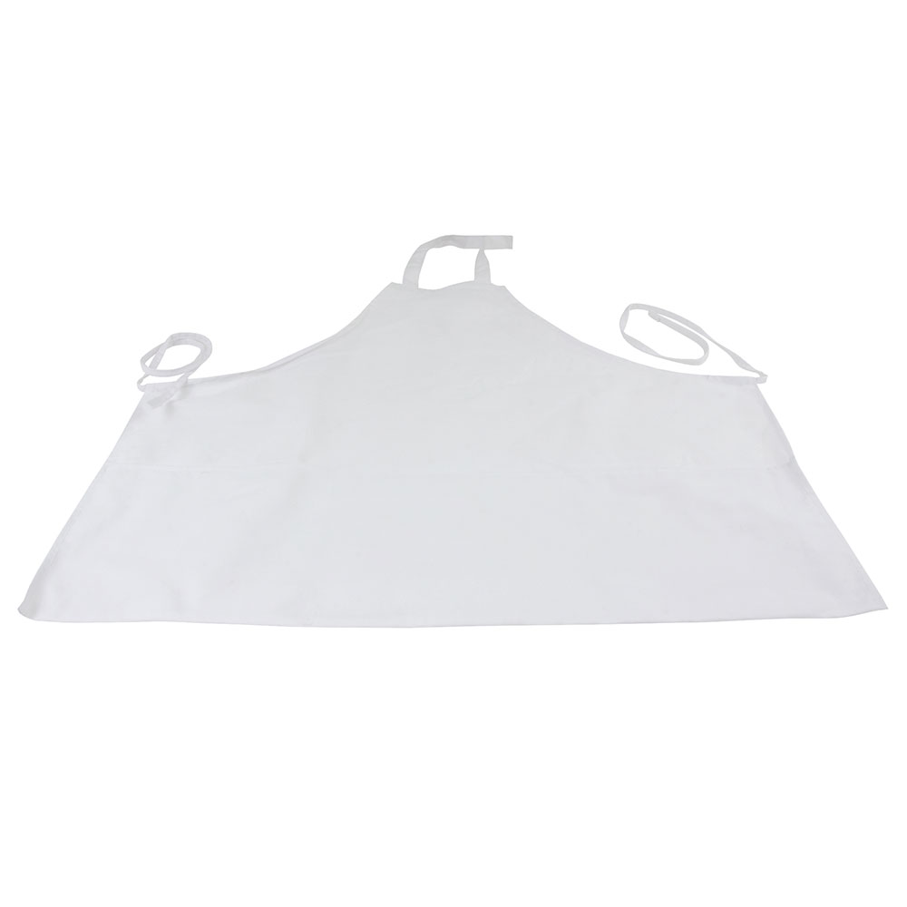 Intedge 343W Three Pocket Cobbler Apron, White