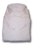 Intedge 345KB SM LP Double Breasted Chef Coat w/ Knotted Button, Small, Light Pink