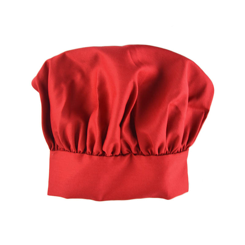 Intedge 346HR Chef's Hat, Red