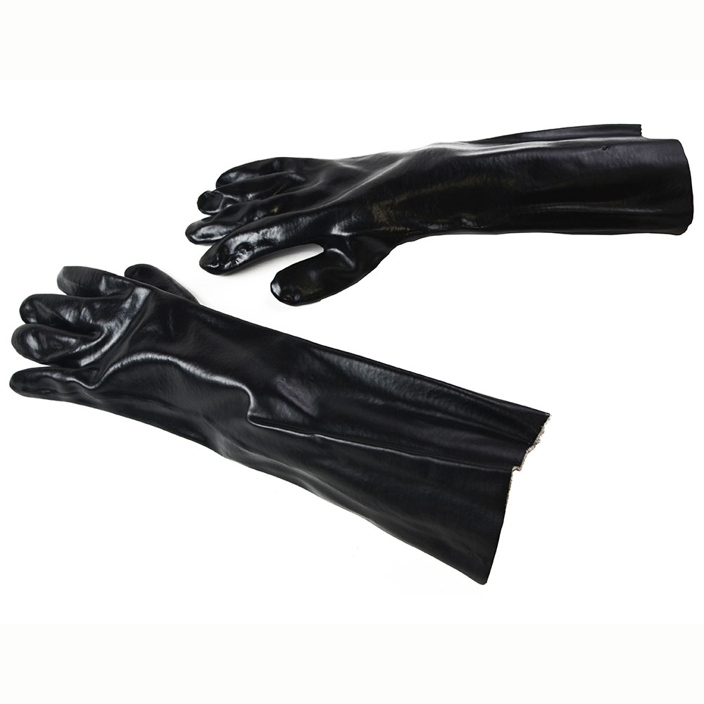 "Intedge 818PVC 18"" Pot & Sink Glove w/ Cotton Interlock Lining"