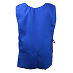Intedge C335BLU 2 Sided Smock, Blue