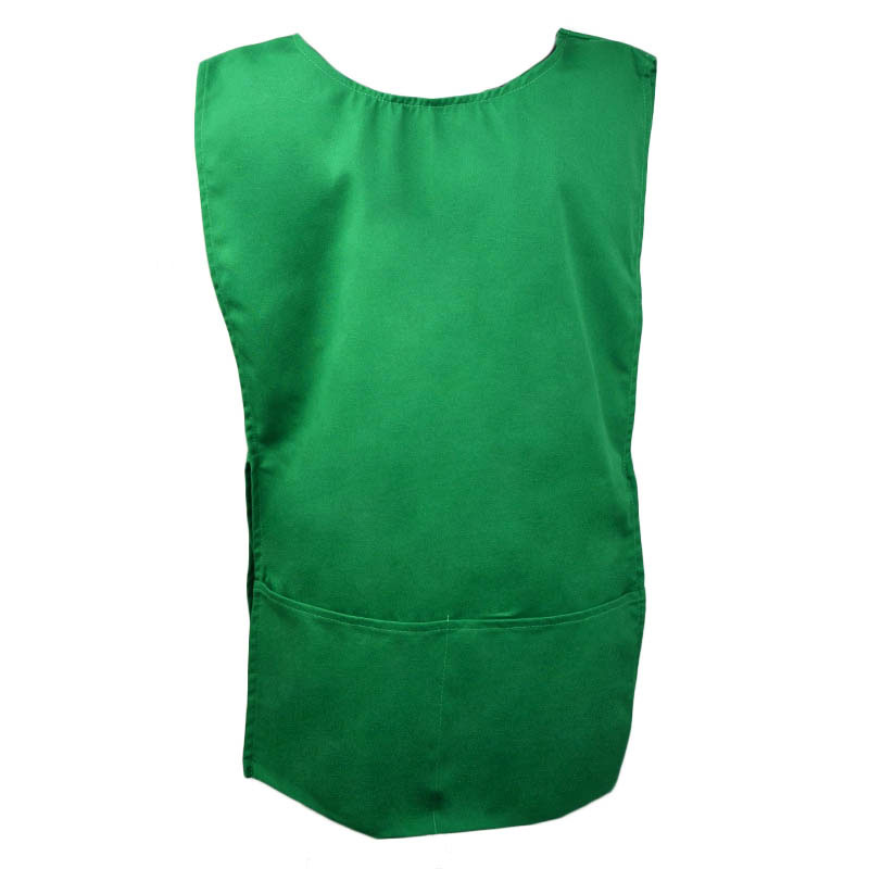 Intedge C335G 2 Sided Smock, Green