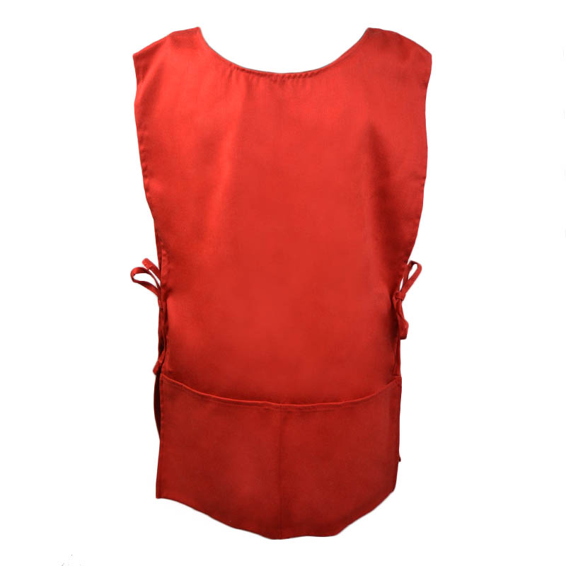 Intedge C335R 2 Sided Smock, Red
