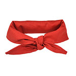 "Intedge CK1R Chef Kerchief, 14 x 37"", Red"