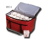 "Intedge IFC-35 R Insulated Food Carrier, 35 x 12 x 15"", Red"