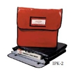 Intedge IPK-6 R Waterproof Pizza Bag, 30 x 30 x 6-in, Red
