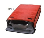 "Intedge IPK-5 BLK Insulated Sheet Pan Carrier, 18 x 26 x 5"", Black"