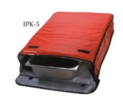"Intedge IPK-5 N Insulated Sheet Pan Carrier, 18 x 26 x 5"", Navy"