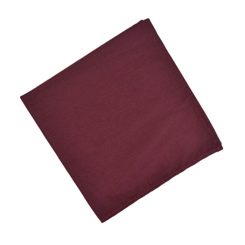 "Intedge NCM2020BUR Napkin w/ Hemmed Edge, 20 x 20"", Burgundy"