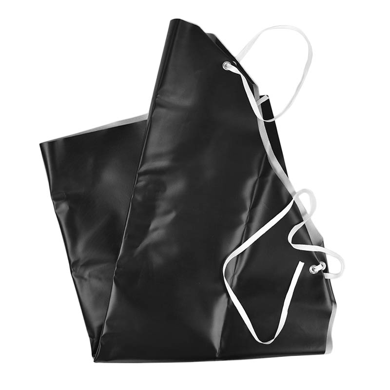 "Intedge NDWA Dishwasher Neoprene Apron, 45 x 35"", Black"