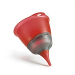 Cuisipro 74-7152 Three-in-One Funnel Set, Red