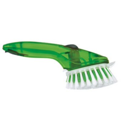 Cuisipro 74-715304 Pump Action Cleaning Brush, Green