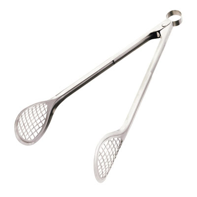 Cuisipro 747189 Grill & Fry Tongs w/ Wide Head