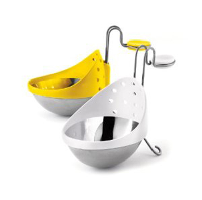 Cuisipro 747308 2-Egg Poachers, Metal