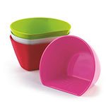 Cuisipro 74-7311 Set of 4 Large Scoop Bowls w/ 2.5-cup Capacity