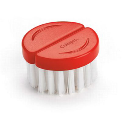 Cuisipro 74-7319 Flexible Mushroom Brush w/ Soft Bristles, Red