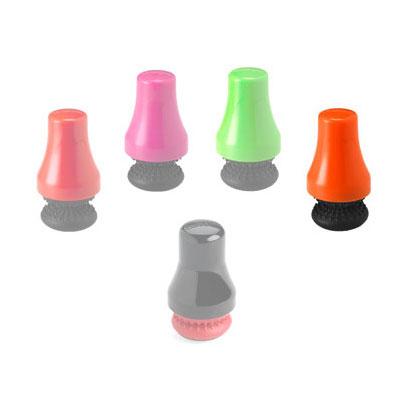 Cuisipro 74-732218 Magnet Spot Scrubber - Scratch-Resistant, Orange