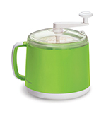 Cuisipro 837449 Donvier Ice Cream Maker, Green