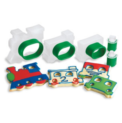 Cuisipro 74-713204 Five Piece Train Set Cookie Cutter Set