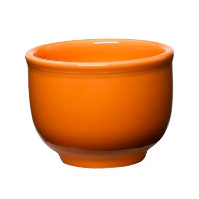 Homer Laughlin 098325 18-oz Colorations Jumbo Bowl - China, Tangerine