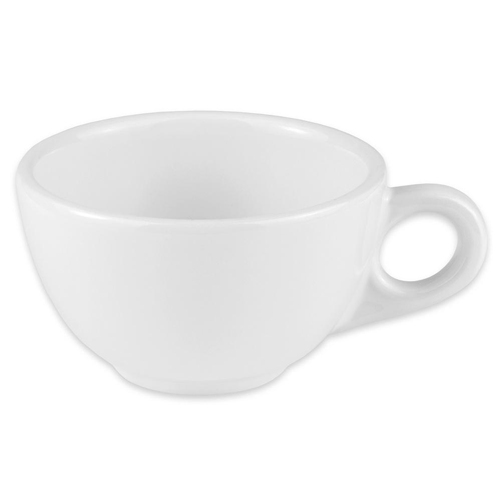 Homer Laughlin 10510000 7.75-oz Boston Cup - China, Arctic White