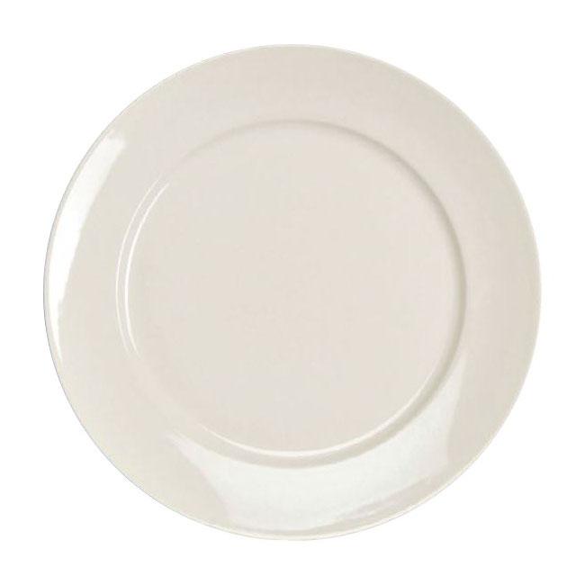 "Homer Laughlin 120810000 9"" Round RE-21 Plate - China, Arctic White"