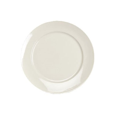 """Homer Laughlin 12092100 9.63"""" Round RE-21 Plate - China, Ivory"""