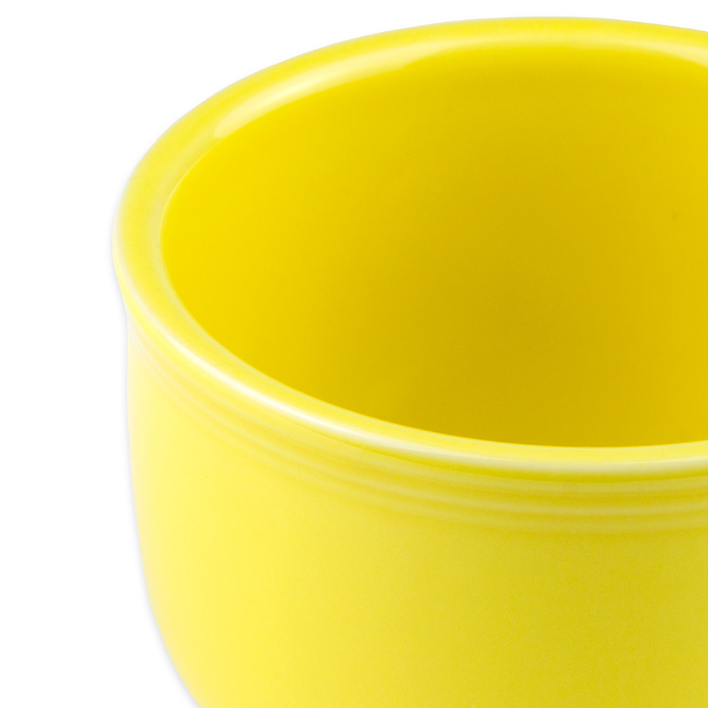 Homer Laughlin 149320 18-oz Colorations Jumbo Cup - China, Sunflower