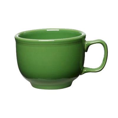Homer Laughlin 149324 18-oz Colorations Jumbo Cup - China, Shamrock