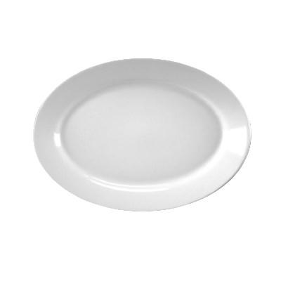 "Homer Laughlin 15410000 10.5"" Oval Platter - China, Arctic White"