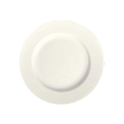 "Homer Laughlin 20300 7.13"" Round Plate - China, Ivory"