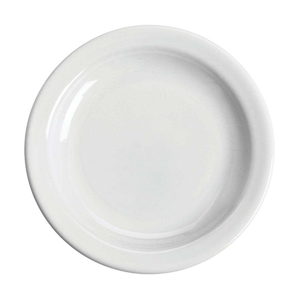 "Homer Laughlin 21210000 6.5"" Round Plate - China, Arctic White"