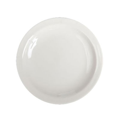 "Homer Laughlin 21300 7.25"" Round Plate - China, Ivory"