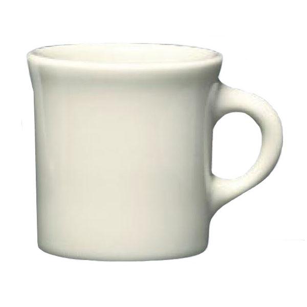 Homer Laughlin 30000 8.75-oz Coffee Mug - China, Ivory