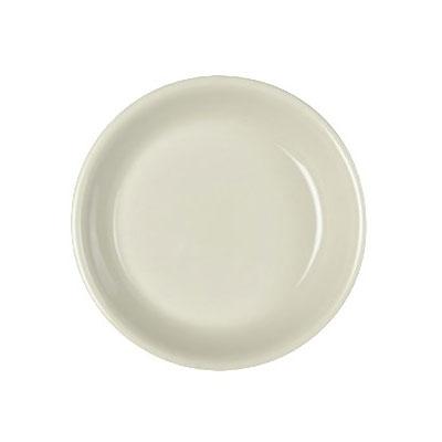 "Homer Laughlin 30300 5.5"" Empire Round Plate - China, Ivory"