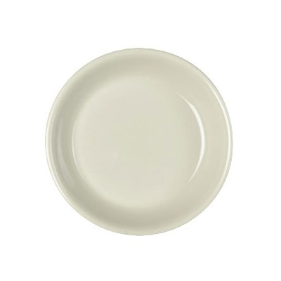 "Homer Laughlin 30500 7.13"" Empire Round Plate - China, Ivory"