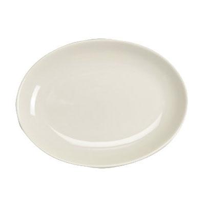 "Homer Laughlin 31100 8.38"" Oval Empire Platter - China, Ivory"