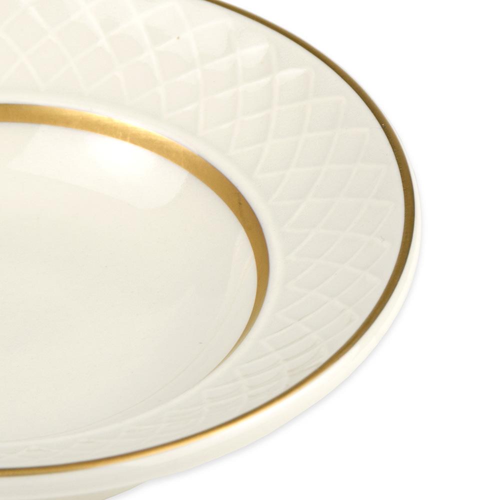 Homer Laughlin 3541420 2-oz Gothic Westminster Fruit Bowl - China, Ivory