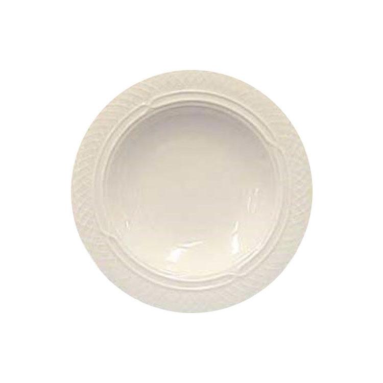 Homer Laughlin 3561420 10.5-oz Gothic Westminster Soup Bowl - China, Ivory