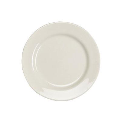 "Homer Laughlin 40500 7"" Round Durathin Plate - China, Ivory"