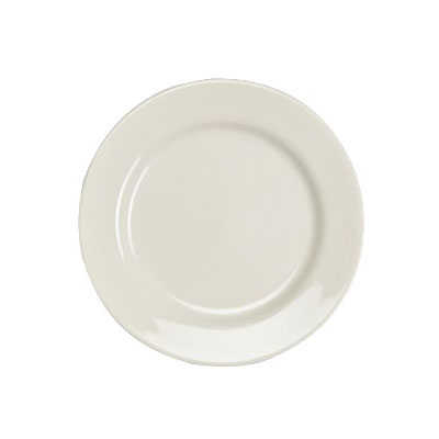 "Homer Laughlin 41000 11.13"" Round Durathin Plate - China, Ivory"