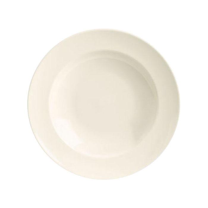 Homer Laughlin 44210000 24-oz Venetian Pasta Bowl - China, Arctic White